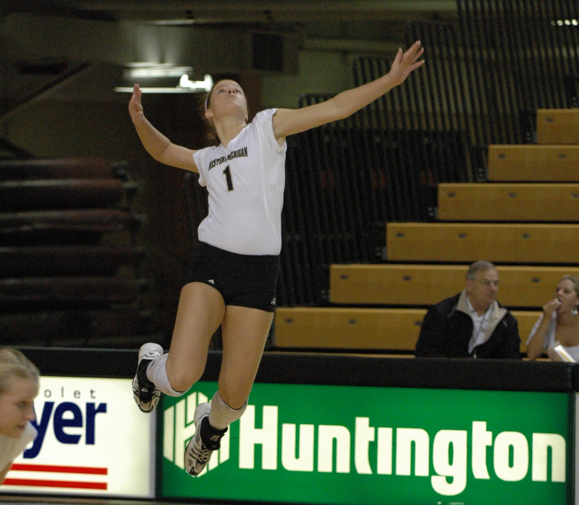 519be373b2 Volleyball Begins MAC Play at Central Michigan and Eastern Michigan ...