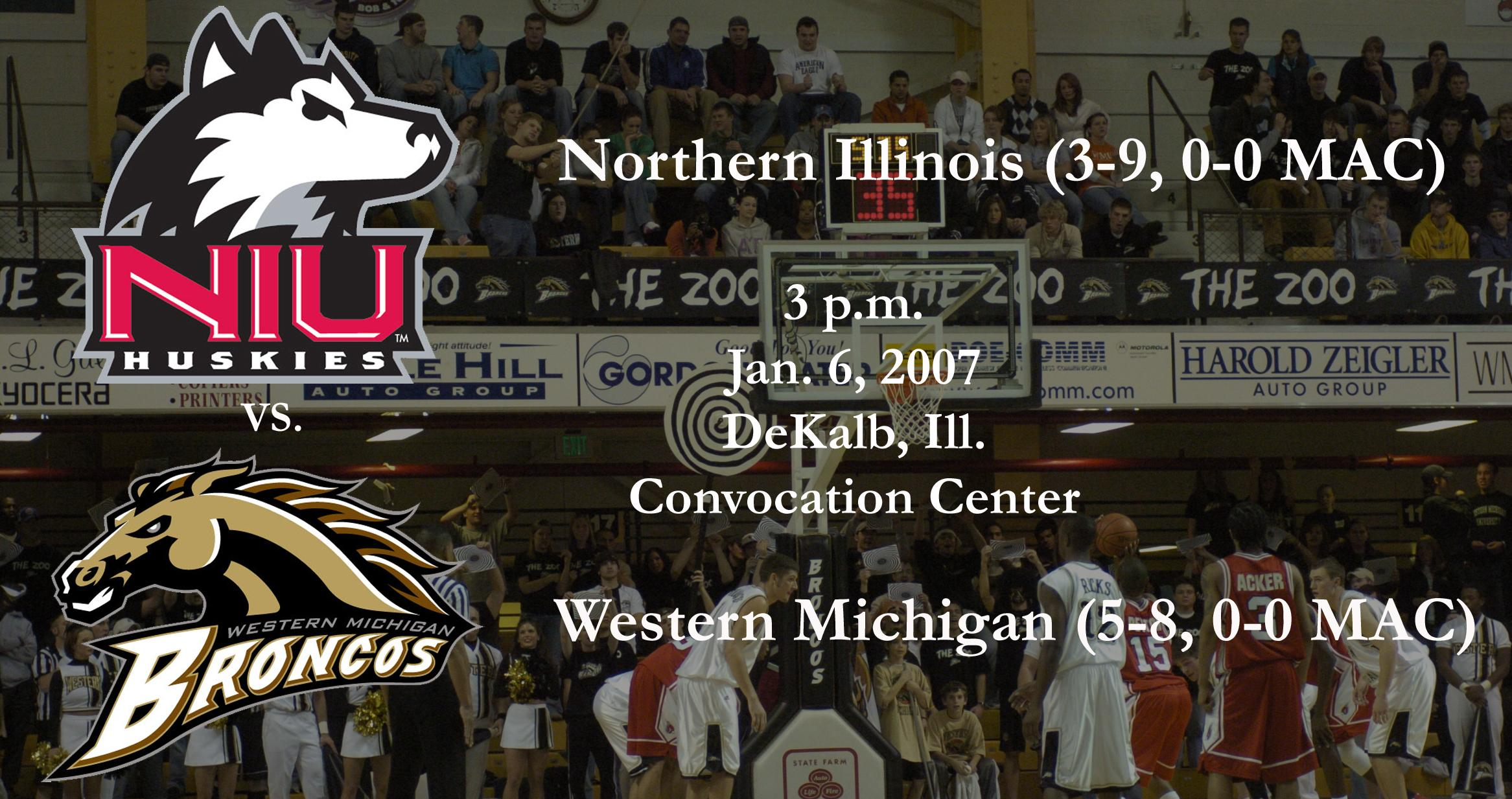 Men S Basketball Opens Mac Play At Northern Illinois Western Michigan University Athletics