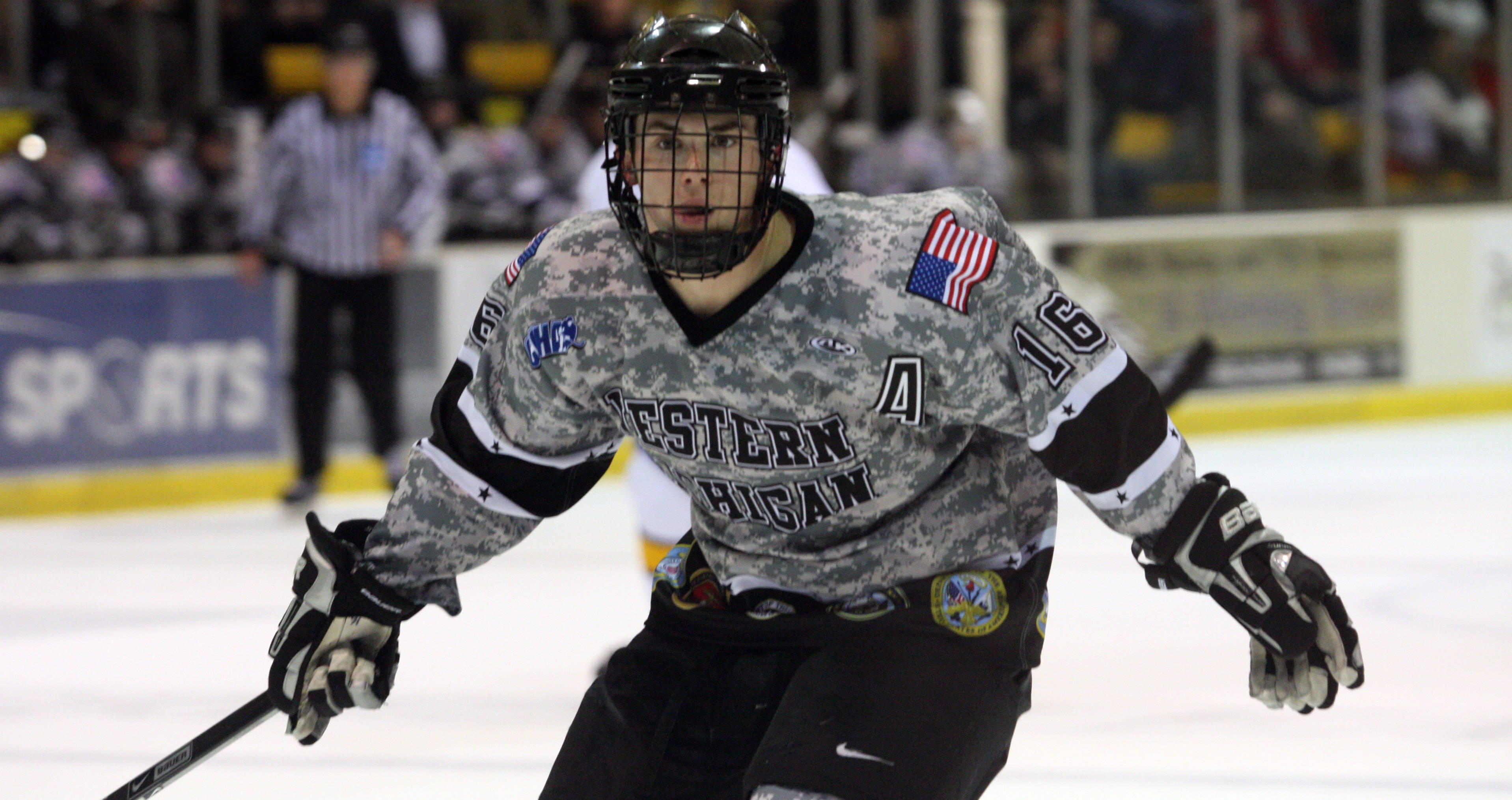 Bronco Hockey Holds Military Appreciation Night Saturday - Western ... c0954d8dc2a