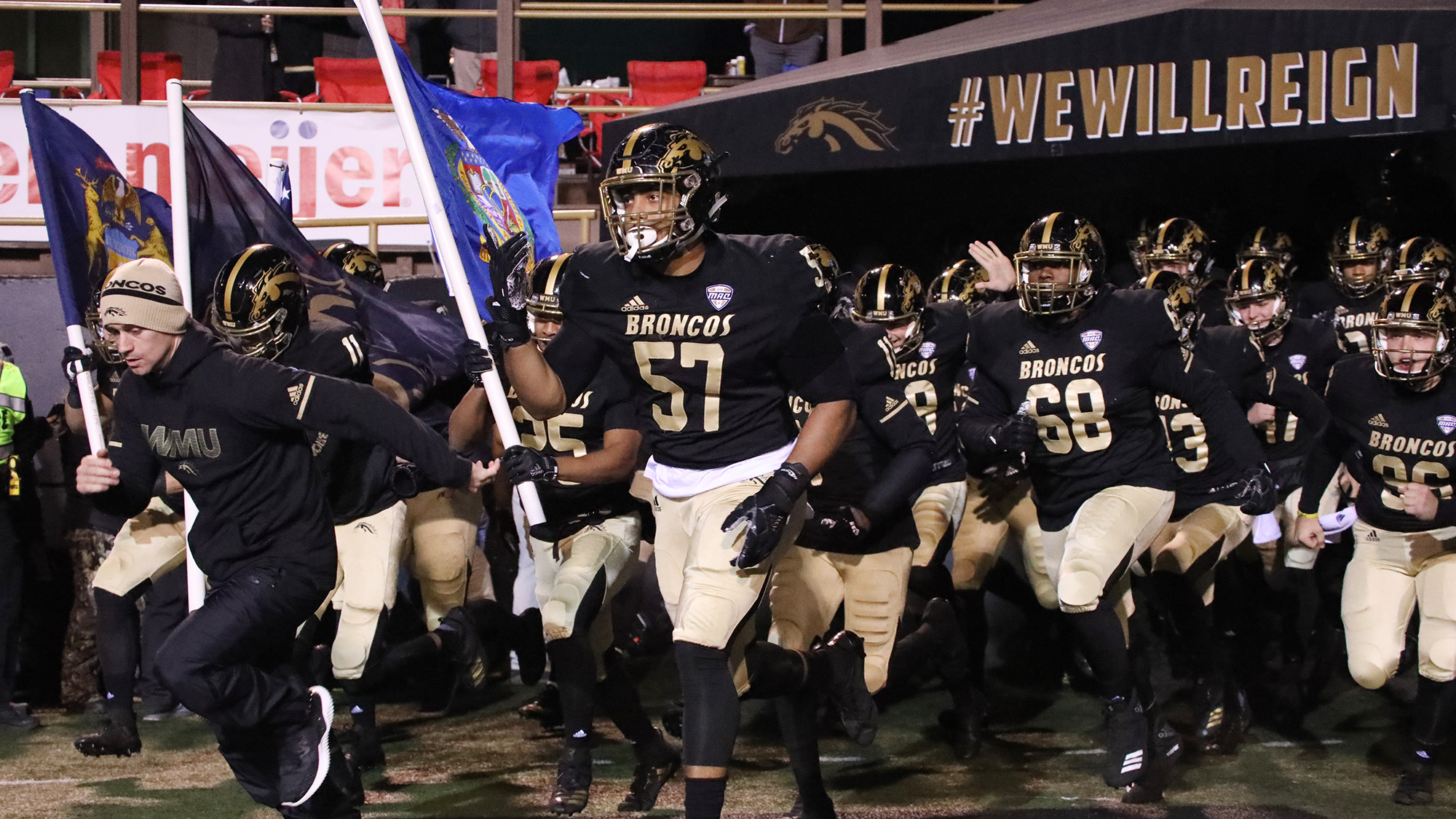 Broncos Football Schedule 2019 2019 Western Michigan Football Schedule Announced   Western