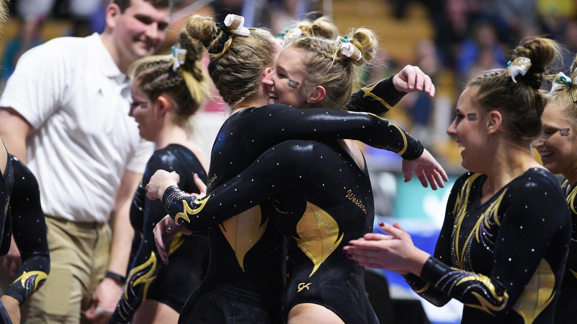 1cd2fd38e3ca Gymnastics Places Eight on Academic All-MAC - Western Michigan ...