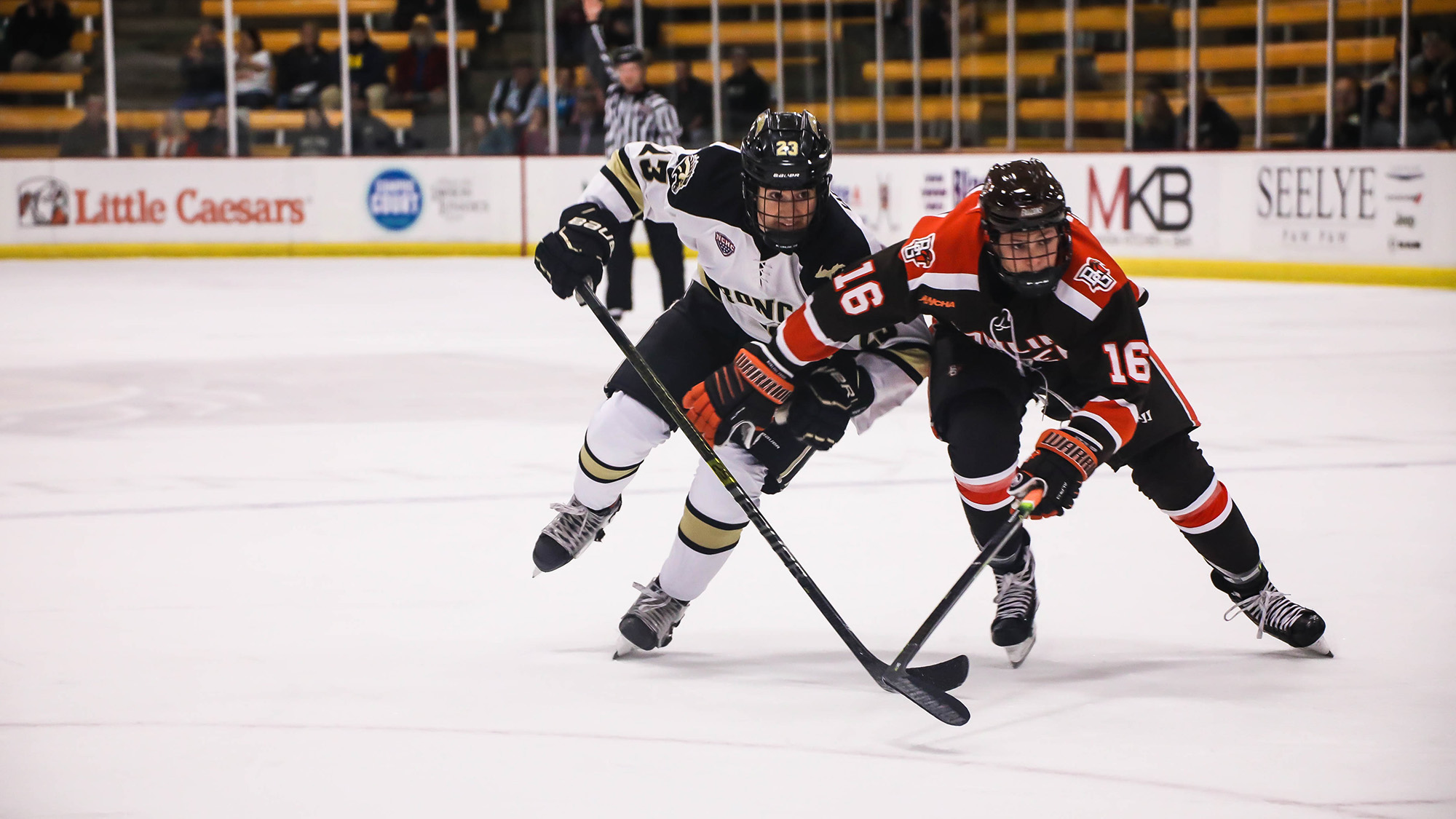 Hockey Falls in OT to Bowling Green